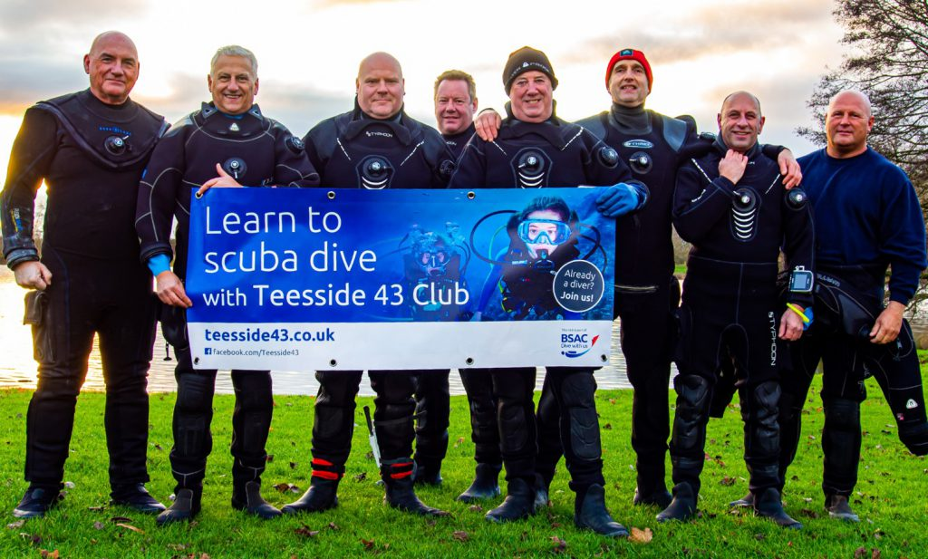 Learn to scuba dive with Teesside 43 club